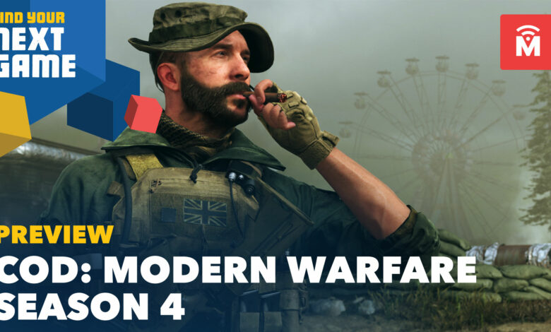 CoD MW y Warzone Roadmap: Season 4 trae algo nuevo