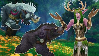 WoW cumple muchos deseos para los druidas en Shadowlands