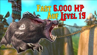 WoW Classic: Druid ya tiene tanta HP en el nivel 19 como en el nivel 60