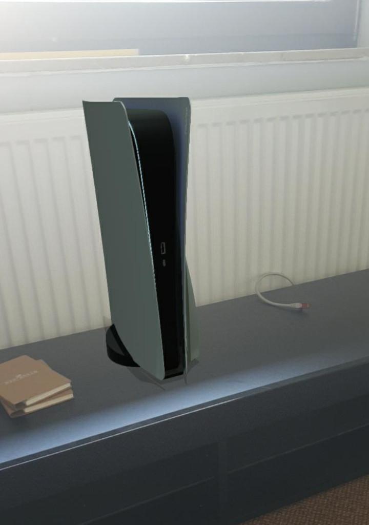 Así es como se ve la PS5 en el departamento