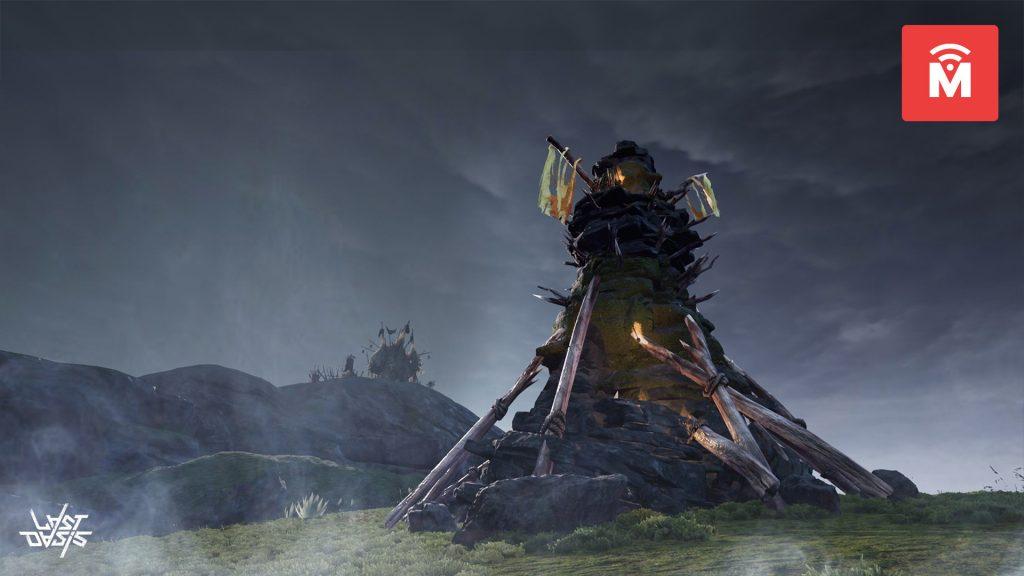 Last Oasis Volcanic Theme Tower MMMO