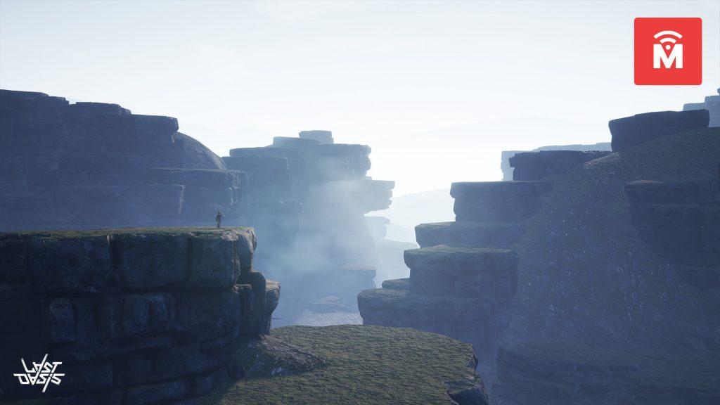 Last Oasis Volcanic Theme Landscape MMMO
