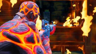 Tus edificios ahora pueden incendiarse en Fortnite