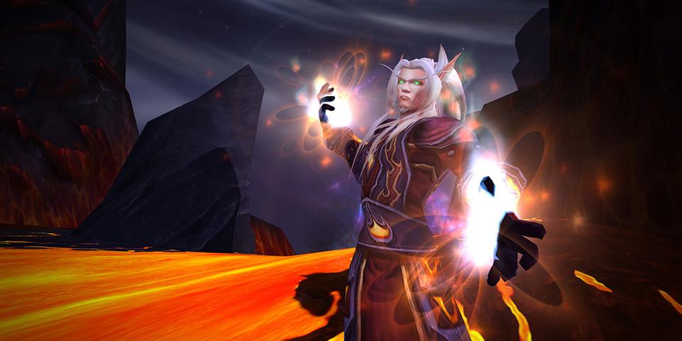Mago de fuego de WoW Legion