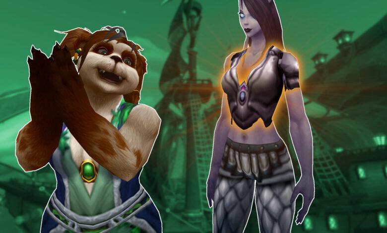En WoW: Shadowlands construyes legendarios, con estos efectos