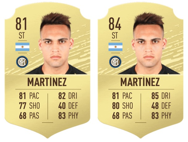 """Martinez """"class ="""" lazy lazy-hidden wp-image-517852 """"width ="""" 442 """"height ="""" 332 """"srcset ="""" https://images.mein-mmo.de/medien/2020/06/FIFA-21- Martinez.jpg 608w, https://images.mein-mmo.de/medien/2020/06/FIFA-21-Martinez-300x226.jpg 300w, https://images.mein-mmo.de/medien/2020/ 06 / FIFA-21-Martinez-150x113.jpg 150w """"data-lazy-tamaños ="""" (ancho máximo: 442px) 100vw, 442px """"> Lautaro Martínez fue muy fuerte después de la actualización de invierno      <p>Eso se debió a su fuerte desempeño para el Inter de Milán: en la Serie A, Martínez anotó 11 goles en 22 juegos y anotó tres más. En la Liga de Campeones, anotó cinco veces, en solo seis juegos. Martínez también causó sensación en el mundo real, entre otras cosas, el FC Barcelona debería estar interesado en el argentino.</p> <p><strong>Así de fuerte se vuelve Martínez: </strong>Lautaro Martínez, como Haaland, también se ha actualizado como parte de la actualización de invierno. En lugar de su carta 81, ahora está en 84, que también debería estar cerca de su nuevo valor. Puede haber un punto más.</p> <h2><strong>Victor Osimhen </strong></h2> <p><strong>Es por eso que Osimhen se está fortaleciendo: </strong>Victor Osimhen ha sido una de las estrellas fugaces de la temporada pasada. El atacante de LOSC Lille, que una vez no pudo establecerse en VfL Wolfsburg, aparentemente ha encontrado su ritmo y moja regularmente. El veloz delantero anotó 13 goles en la liga y preparó cinco más. Aquí, también, se está discutiendo una transferencia a un club más grande, y Osimhen también debería ser interesante para su Ultimate Team.</p> <p>    <img data-lazy-type="""