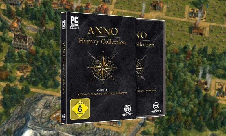 Oferta de Amazon: Anno History Collection ahora con 15 euros de descuento