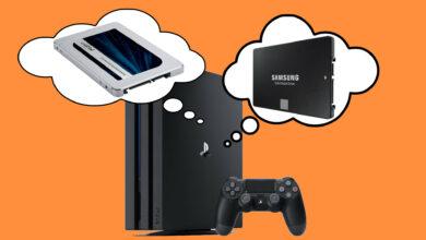 Estos son los 4 mejores SSD para la PS4 2020
