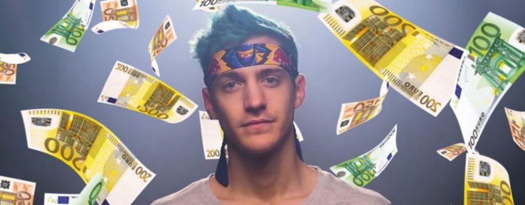 """Fortnite-Ninja-Cash-Money-title.v4-1140x445 """"class ="""" wp-image-495160 """"srcset ="""" https://images.mein-mmo.de/medien/2020/04/Fortnite-Ninja-Cash- Money-title.v4-1140x445-1-1024x400.jpg 1024w, https://images.mein-mmo.de/medien/2020/04/Fortnite-Ninja-Cash-Money-title.v4-1140x445-1-300x117 .jpg 300w, https://images.mein-mmo.de/medien/2020/04/Fortnite-Ninja-Cash-Money-title.v4-1140x445-1-150x59.jpg 150w, https: //images.mein -mmo.de/medien/2020/04/Fortnite-Ninja-Cash-Money-title.v4-1140x445-1-768x300.jpg 768w, https://images.mein-mmo.de/medien/2020/04/ Fortnite-Ninja-Cash-Money-title.v4-1140x445-1.jpg 1140w """"tamaños ="""" (ancho máximo: 1024px) 100vw, 1024px """"> Ninja seguramente también hará mucho dinero, pero a través de Twitch.  <p>Twitch parece haberse establecido como la plataforma principal para los jugadores. Puedes ver que YouTube es mixto, pero los juegos son más dominantes en Twitch</p> <p>Los 10 jugadores mejor pagados del mundo: usted gana la mayor cantidad de dinero en Twitch, YouTube y compañía.</p>   </div><!-- .entry-content /-->  <div id="""