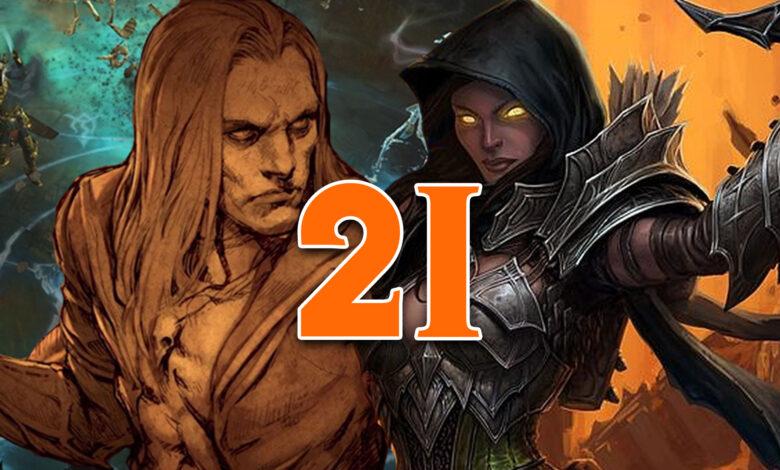 Diablo 3: inicio de la temporada 21 conocido - notas del parche para la actualización 2.6.9