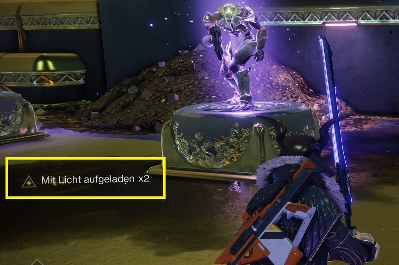 Stack Buff Destiny 2 cargado de luz