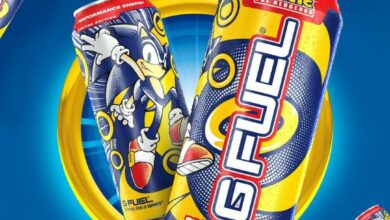 Photo of SEGA y G Fuel Cook Up Sonic the Hedgehog Energy Drink