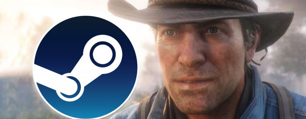 Título de lanzamiento de las ediciones de vapor de Red Dead Redemption 2