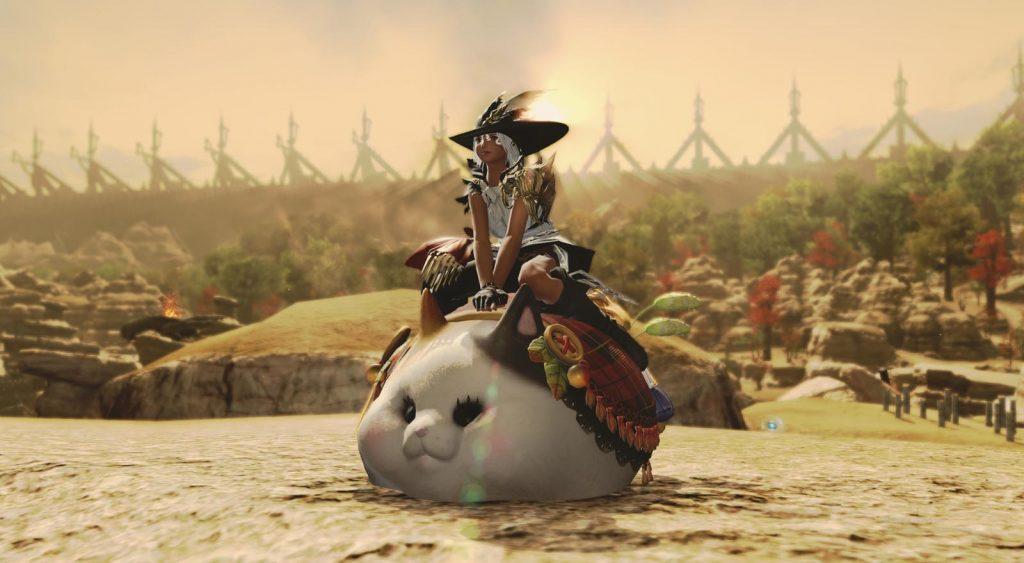 Final Fantasy XIV Fat Cat Mount