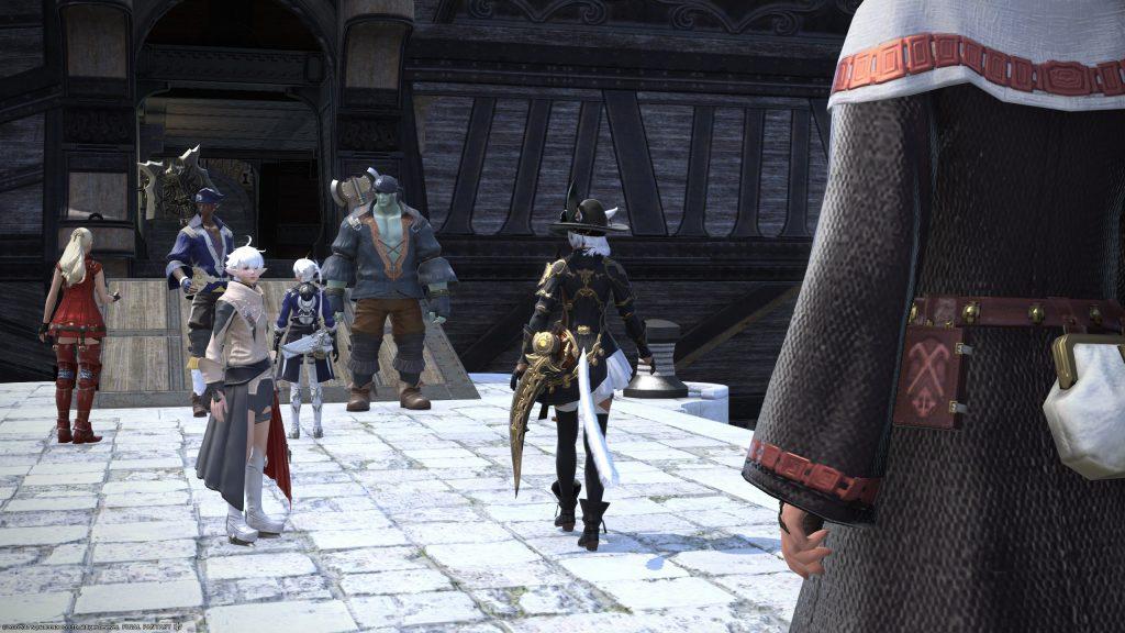 Final Fantasy XIV salida a Kugane