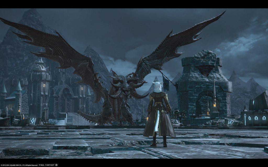 final fantasy xiv nidhogg cutcene