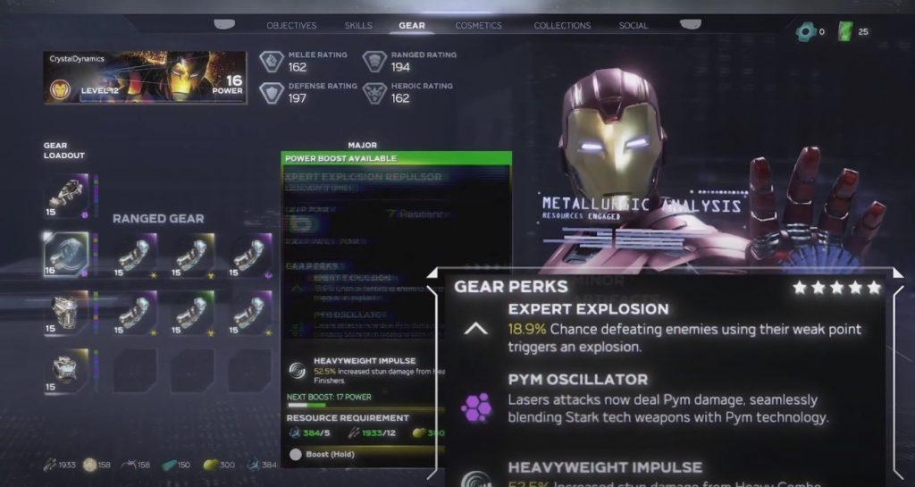 Marvel Avengers Iron Man botín 1
