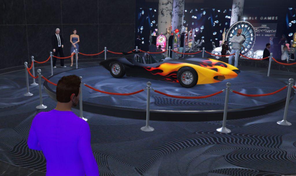 GTA Online Scramjet Podium