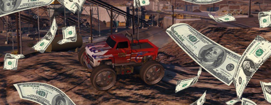 Título de cuarzo de dinero en línea de GTA