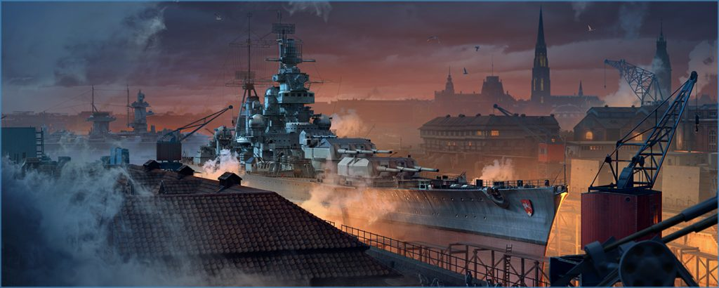 buques de guerra puerto 01