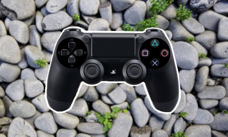 Stein parece un controlador de PS4, mueve Internet