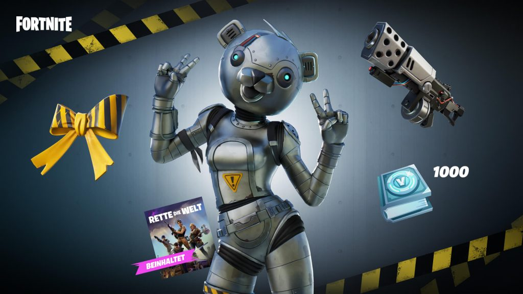 paquete fortnite metal RDW