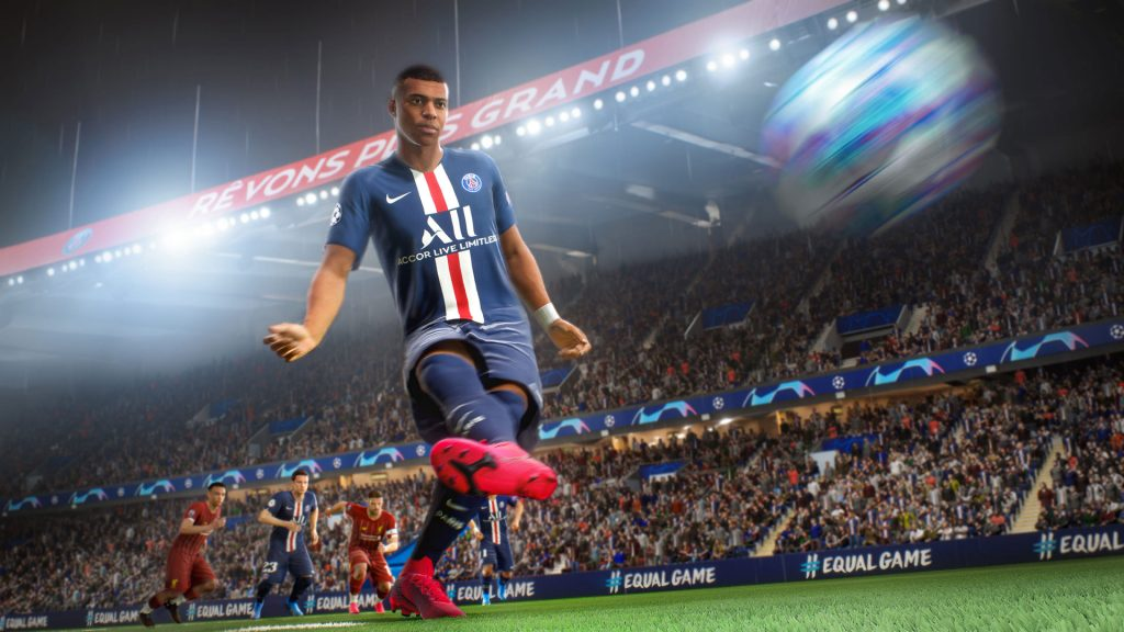 Tiro de FIFA 21 Mbappe