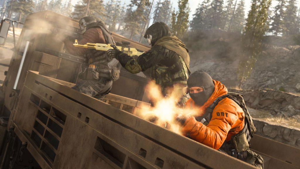 bacalao guerra moderna zona de guerra soldados operador armas acción