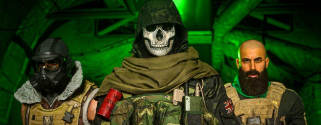 bacalao guerra moderna operador de zona de guerra título de armas fantasma