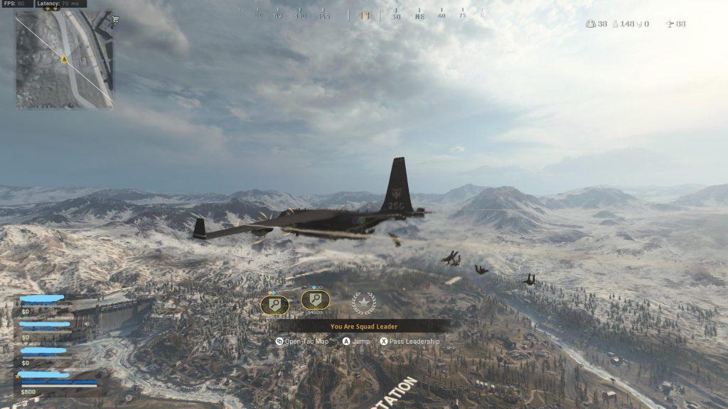 CoD Warzone Aviationist armadura hazaña de dinero