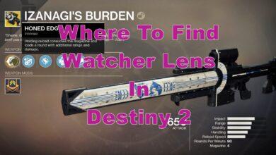 Photo of Dónde encontrar fácilmente la lente vigilante en Destiny 2 – Ubicación de la lente Watcher