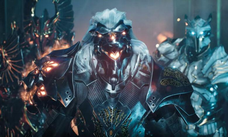 El avance de Godfall muestra un personaje que puedes jugar en PS5 pronto