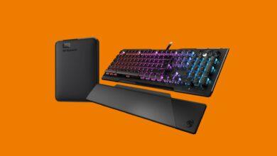 Photo of El teclado para juegos superior de Roccat y el disco duro portátil en Saturno se redujeron