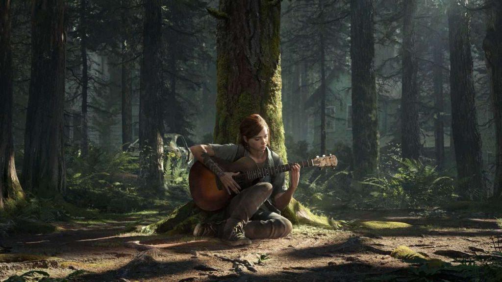 The Last of Us 2 captura de pantalla de guitarra