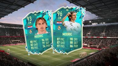 FIFA 20: Flashback Modric es extremadamente fuerte, así que lo obtienes