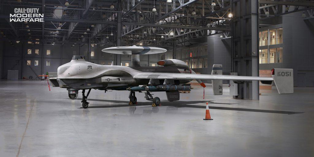 bacalao guerra moderna drone de reconocimiento uav