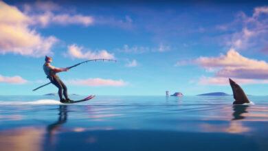 Fortnite: Season 2 Trailer muestra mapas y tiburones completamente inundados