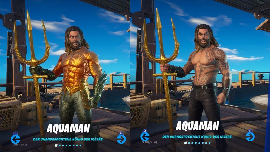 """fortnite-aquaman-stile """"class ="""" lazy lazy-hidden wp-image-516989 """"srcset ="""" http://dlprivateserver.com/wp-content/uploads/2020/06/Fortnite-desbloquea-la-mascara-Aquaman-en-la-temporada-3-como.jpg 1024w , https://images.mein-mmo.de/medien/2020/06/fortnite-aquaman-stile-300x169.jpg 300w, https://images.mein-mmo.de/medien/2020/06/fortnite- aquaman-stile-150x84.jpg 150w, https://images.mein-mmo.de/medien/2020/06/fortnite-aquaman-stile-768x432.jpg 768w, https://images.mein-mmo.de/ media / 2020/06 / fortnite-aquaman-stile-1536x864.jpg 1536w, https://images.mein-mmo.de/medien/2020/06/fortnite-aquaman-stile-780x438.jpg 780w, https: // images.mein-mmo.de/medien/2020/06/fortnite-aquaman-stile.jpg 1920w """"data-lazy-tamaños ="""" (ancho máximo: 1024px) 100vw, 1024px """"> Así es como se ven los dos estilos de Aquaman  <h2>Desbloquee la máscara Aquaman: así es como</h2> <p>Para desbloquear la máscara y jugar como Aquaman, primero debes hacer una tarea semanal. Te mostraremos cómo funciona.</p> <p>Dado que se lanza un nuevo desafío cada semana, actualizaremos el artículo para usted tan pronto como la próxima tarea esté disponible. Con las tareas restantes, puedes desbloquear artículos geniales de Aquaman.</p> <h3>1ra fase de tareas</h3> <p>A diferencia de la máscara de Deadpool, que estaba bastante """"oculta"""", Aquaman es fácil de encontrar. Si desea tener la piel Aquaman, primero debe:</p> <ul> <li>Compra el pase de batalla de la temporada 3</li> <li>En el nuevo menú del Pase de batalla</li> <li>A los desafíos de cartas (una mesa redonda)</li> <li>Ver los desafíos de Aquaman</li> </ul> <p><img data-lazy-type="""