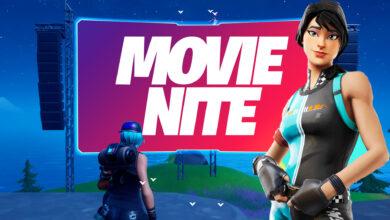 """Fortnite: el evento """"Noche de película"""" de hoy muestra una película de cine: así es como la ves"""
