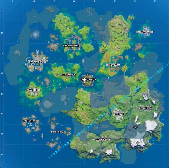 """Fortnite-season-3-map """"class ="""" lazy lazy-hidden wp-image-516687 """"width ="""" 517 """"height ="""" 513 """"srcset ="""" https://images.mein-mmo.de/medien/2020/ 06 / Fortnite-season-3-map.jpeg 567w, https://images.mein-mmo.de/medien/2020/06/Fortnite-season-3-map-300x298.jpeg 300w, https: // imágenes. mein-mmo.de/medien/2020/06/Fortnite-season-3-map-150x150.jpeg 150w """"data-lazy-tamaños ="""" (ancho máximo: 517px) 100vw, 517px """">      <h2>Una nueva ubicación en el mapa de Fortnite</h2> <p><strong>¿Qué lugar es nuevo?</strong> Un lugar que nunca ha existido antes es: The Fortilla. Está en el área del pantano en el mapa, pero ahora hay algunos edificios. Se compone de diferentes islotes en los que puedes encontrar un edificio.</p> <p>    <img data-lazy-type="""
