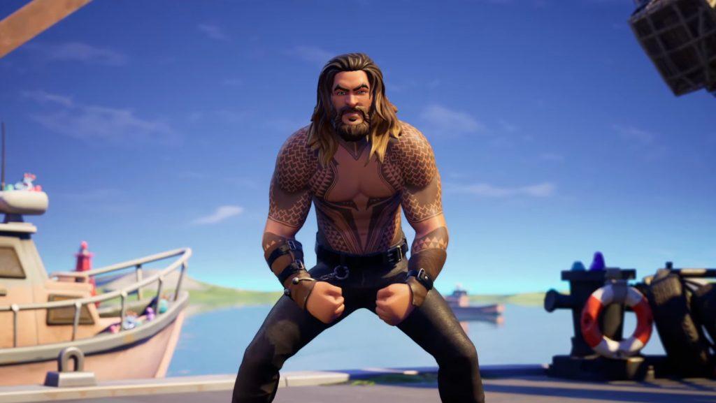 Fortnite Temporada 3 Capítulo 2 Pase de batalla Skin Aquaman