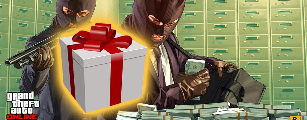 Título de regalo de dinero en línea de GTA