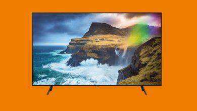Gran televisor QLED de Samsung al mejor precio en Saturn
