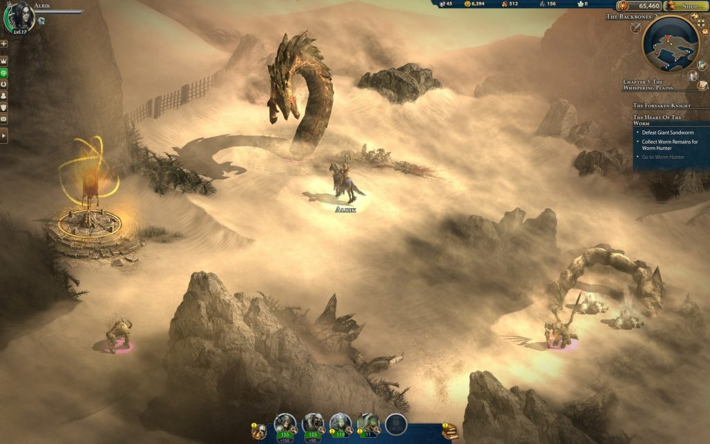 Might and Magic Heroes Online World Exploration