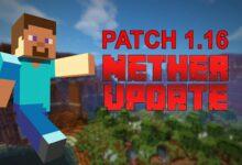 Photo of Hoy está sucediendo mucho en Minecraft: el parche gigante 1.16 está aquí