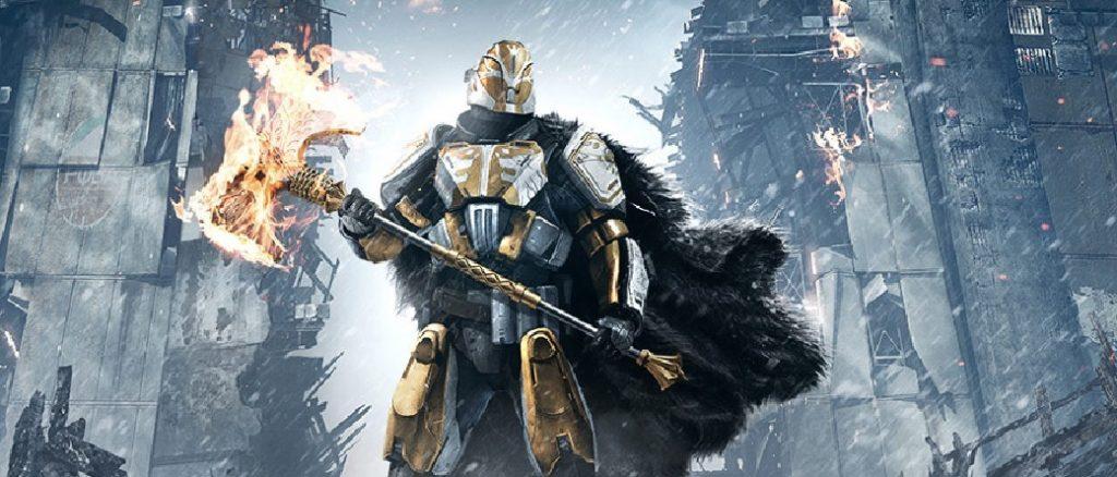 Rise of Iron Iron Lord Saladin Título Destiny
