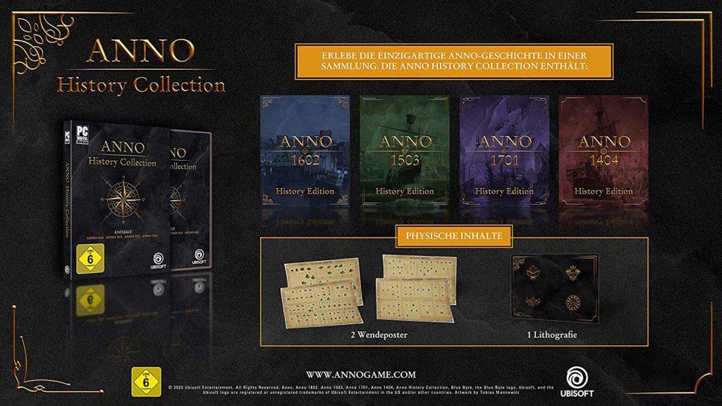 Contenido de Anno History Collection