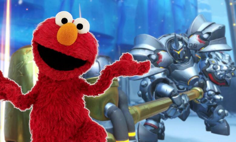 Overwatch tiene una nueva estrella: es Elmo de Sesame Street