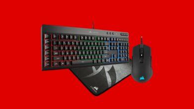Paquete de juegos Corsair con mouse, teclado y teclado barato en MediaMarkt