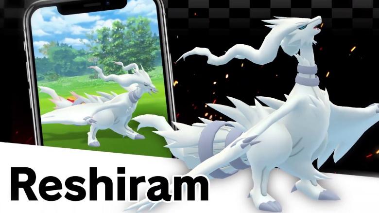 Pokémon GO: So besiegt ihr Reshiram zu dritt – Schon auf Level 25